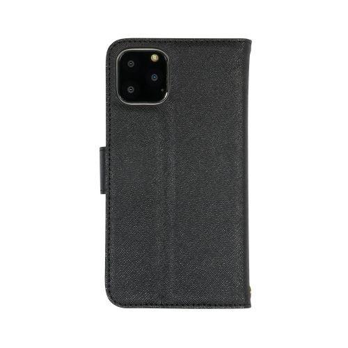 OWLTECHオウルテックiPhone11Pro5.8インチinch用カード収納ポケット付き手帳型ケースOWL-CVIB5801-BKブラック