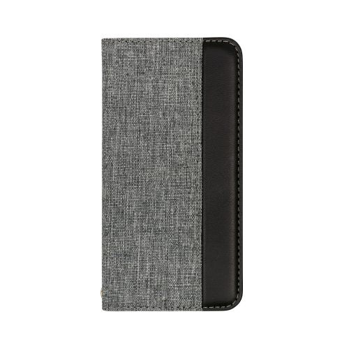 OWLTECHオウルテックiPhone11Pro5.8インチinch用カード収納ポケット付き手帳型ケースOWL-CVIB5803-GYBKグレーxブラック