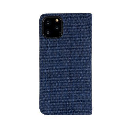 OWLTECHオウルテックiPhone11Pro5.8インチinch用カード収納ポケット付き手帳型ケースOWL-CVIB5803-NVBKネイビーxブラック