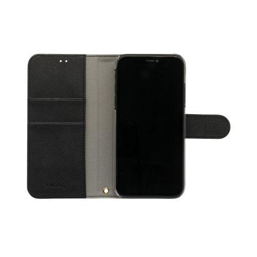 OWLTECHオウルテックiPhone116.1インチ用カード収納ポケット付き手帳型ケースOWL-CVIB6101-BKブラック