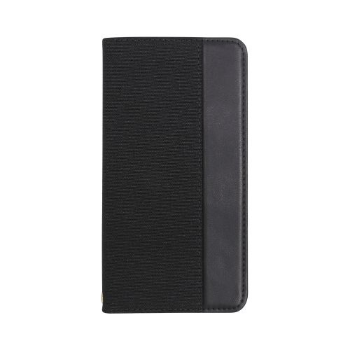 OWLTECHオウルテックiPhone11ProMax6.5インチ用カード収納ポケット付き手帳型ケースOWL-CVIB6503-BKBKブラックxブラック