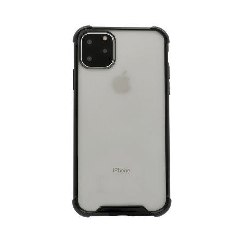 OWLTECHオウルテックiPhone11ProMax6.5インチ用耐衝撃ケースOWL-CVIB6509-BKブラック