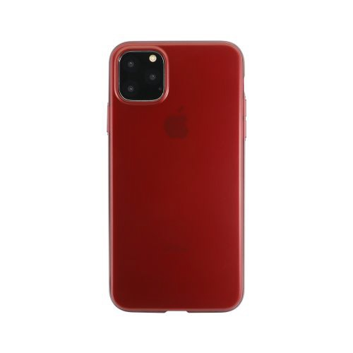 OWLTECHオウルテックiPhone11ProMax6.5インチ用フルカバーケースOWL-CVIB6510-REレッド