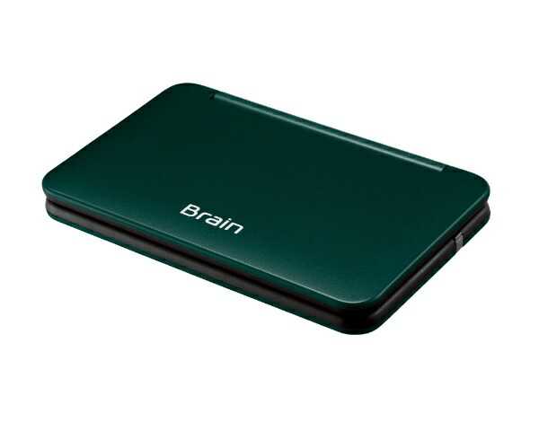 シャープSHARPカラー電子辞書「Brain」(生活教養モデル・150コンテンツ・充電池式)PW-AA2-Gグリーン系[PWAA2G]
