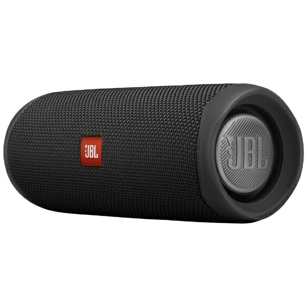 JBLジェイビーエルブルートゥーススピーカーJBLFLIP5BLKブラック[Bluetooth対応/防水][JBLFLIP5BLK]
