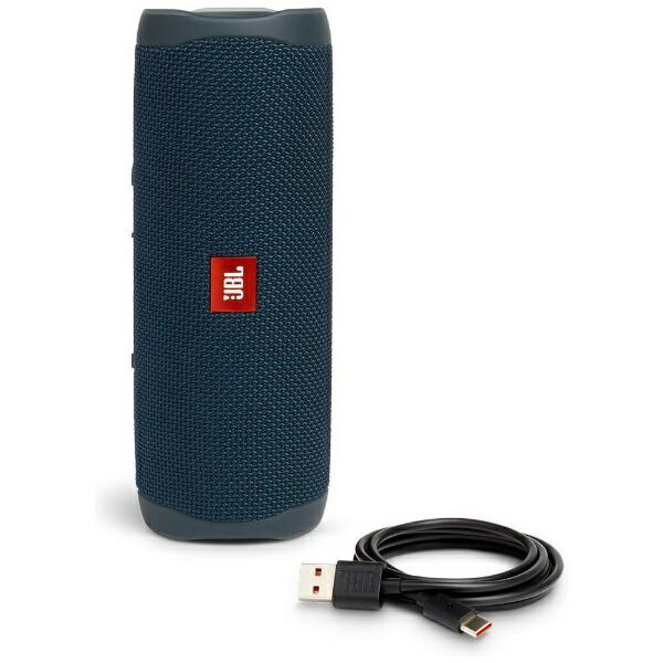 JBLジェイビーエルブルートゥーススピーカーJBLFLIP5BLUブルー[Bluetooth対応/防水][JBLFLIP5BLU]