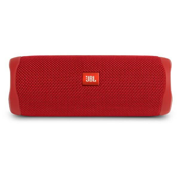 JBLジェイビーエルブルートゥーススピーカーJBLFLIP5REDレッド[Bluetooth対応/防水][JBLFLIP5RED]