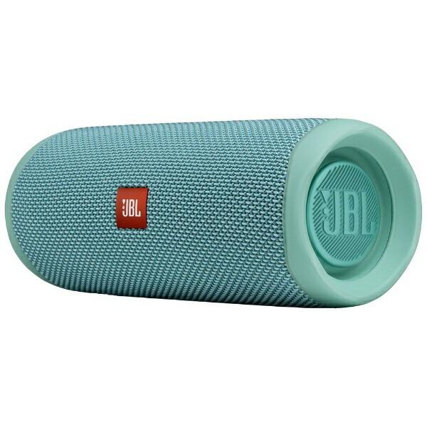 JBLジェイビーエルブルートゥーススピーカーティールJBLFLIP5TEAL[Bluetooth対応][JBLFLIP5TEAL]