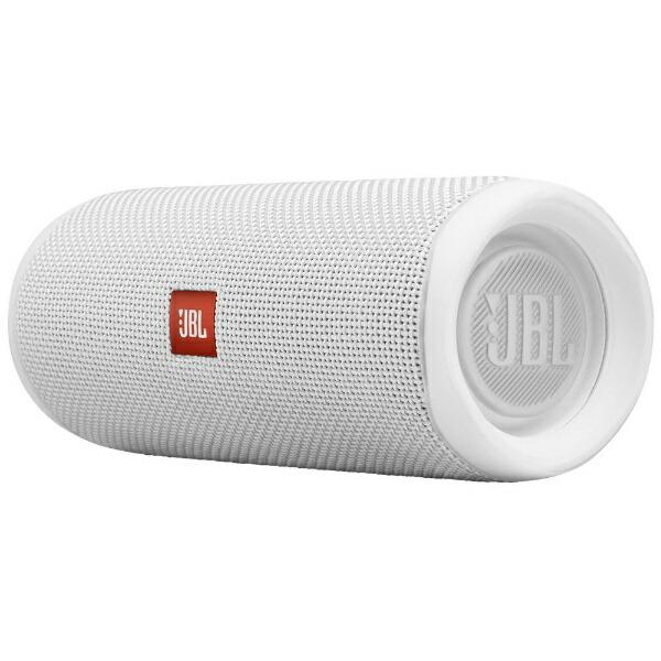 JBLジェイビーエルブルートゥーススピーカーJBLFLIP5WHTホワイト[Bluetooth対応/防水][JBLFLIP5WHT]