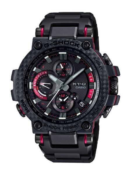 カシオCASIO[Bluetooth搭載ソーラー電波時計]G-SHOCK(Gショック)MT-GMTG-B1000XBD-1AJF