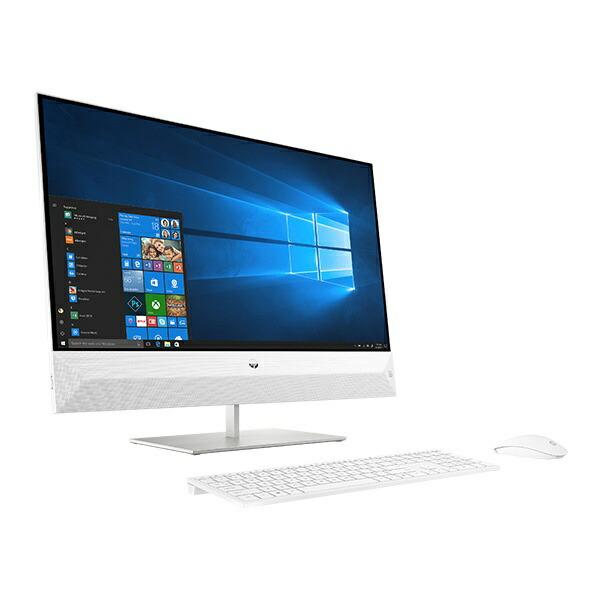 HPエイチピー6DU71AA-AAAEデスクトップパソコンPavilionAll-in-One27-xa0000[27型/intelCorei5/HDD:1TB/SSD:256GB/メモリ:8GB/2019年10月モデル][27インチoffice付き新品一体型windows10]