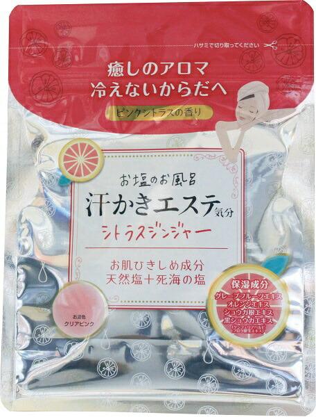マックスMAX汗かきエステ気分シトラスジンジャーの香り(500g)〔入浴剤〕