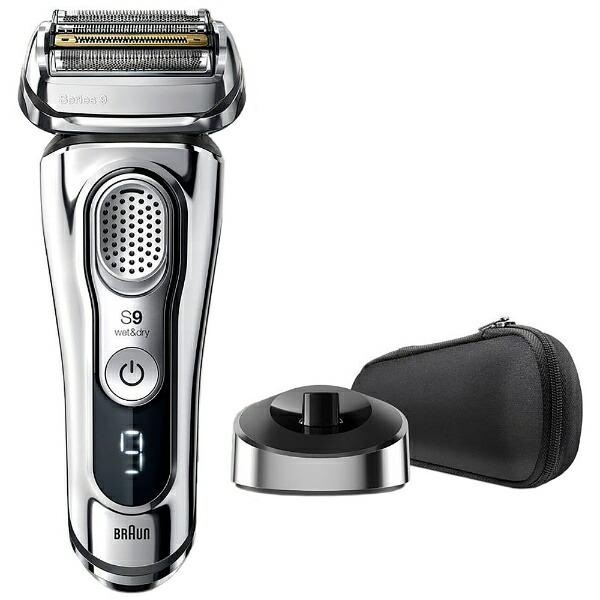 ブラウンBRAUNメンズシェーバー[国内・海外対応]シリーズ9オリンピックモデルシルバー9355S-TO[4枚刃/AC100V-240V][電気シェーバー髭剃り上位モデルおすすめ]