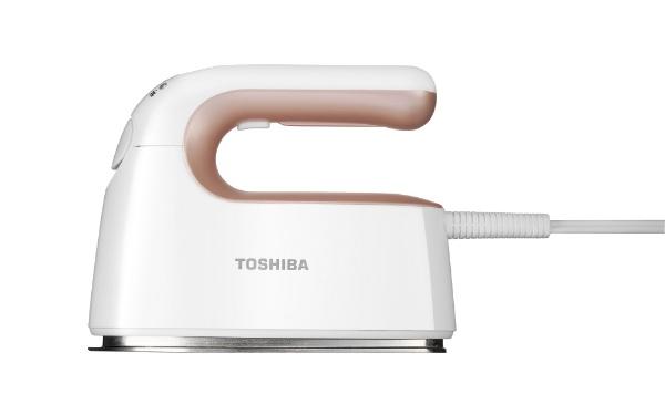 東芝TOSHIBATAS-V5-RW衣類スチーマーローズゴールドホワイト[ハンガーショット機能付き][ハンディアイロン][TASV5RW]