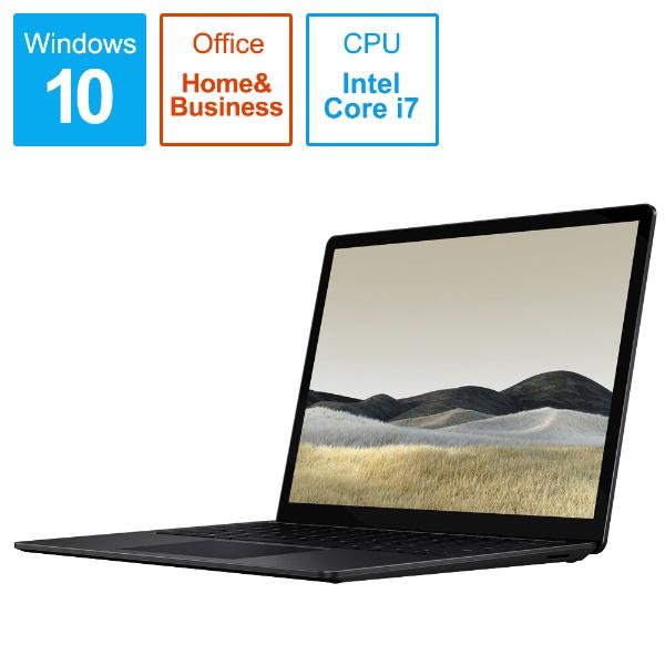 マイクロソフトMicrosoftSurfaceLaptop3[13.5型/SSD1TB/メモリ16GB/IntelCorei7/ブラック/2019年]VGL-00018ノートパソコンサーフェスラップトップ3[13.5インチoffice付き新品windows10][VGL00018]