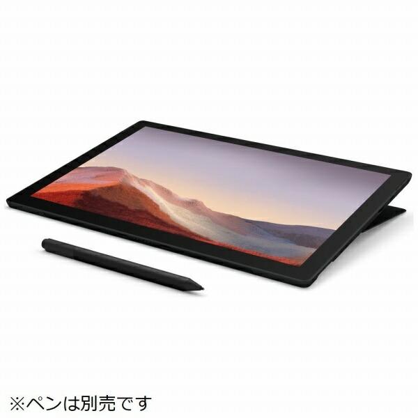 マイクロソフトMicrosoftSurfacePro7[12.3型/SSD256GB/メモリ16GB/IntelCorei7/ブラック/2019年]VNX-00027Windowsタブレットサーフェスプロ7[タブレット本体12インチ][VNX00027]
