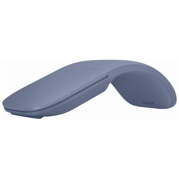 マイクロソフトMicrosoftCZV-00071マウスSurfaceArcMouseアイスブルー[BlueLED/無線(ワイヤレス)/2ボタン/Bluetooth][サーフェス対応マウスアイスブルー]