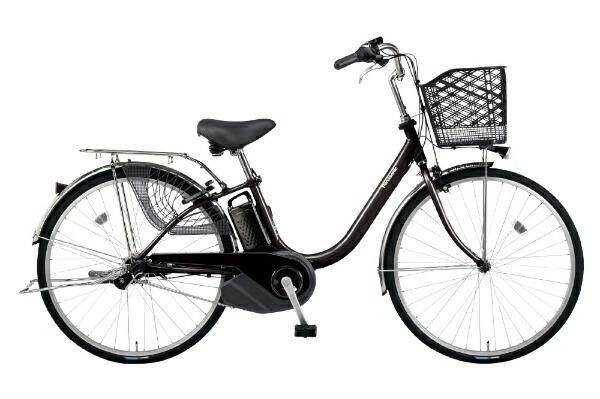 パナソニックPanasonic26型電動アシスト自転車ビビ・YX(スパークブラウン/内装3段変速)BE-ELYX633T2【2020年モデル】【組立商品につき返品不可】【代金引換配送不可】