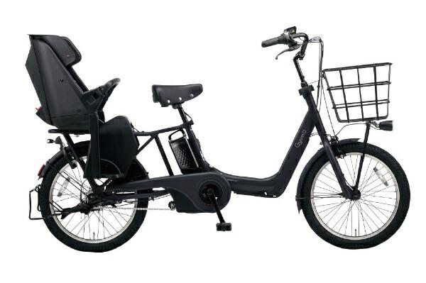 パナソニックPanasonic20型電動アシスト自転車ギュット・アニーズ・DX(マットジェットブラック/内装3段変速)BE-ELAD032B【2020年モデル】【組立商品につき返品不可】【代金引換配送不可】