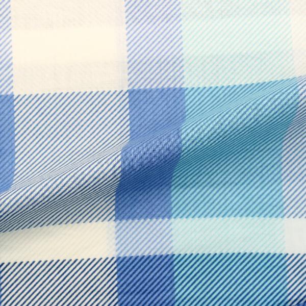 小栗OGURI【まくらカバー】チェックFF16101_76(43×63cm)