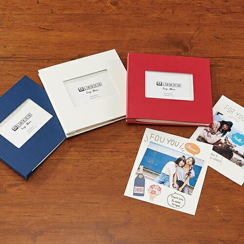 セキセイSEKISEIXP-3808-15ハーパーハウススクラップアルバムALDECOミニネイビー