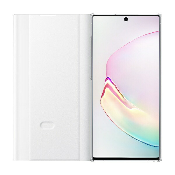 SAMSUNGサムスン【サムスン純正】GalaxyNote10+用CLEARVIEWCOVERホワイトEF-ZN975CWEGJP