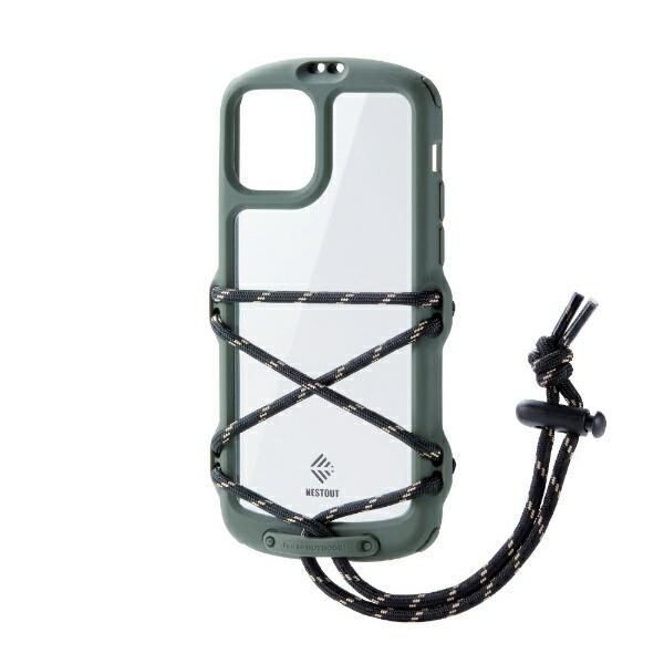 エレコムELECOMiPhone11ProNESTOUTFes&CampオリーブPM-A19BNESTFKH