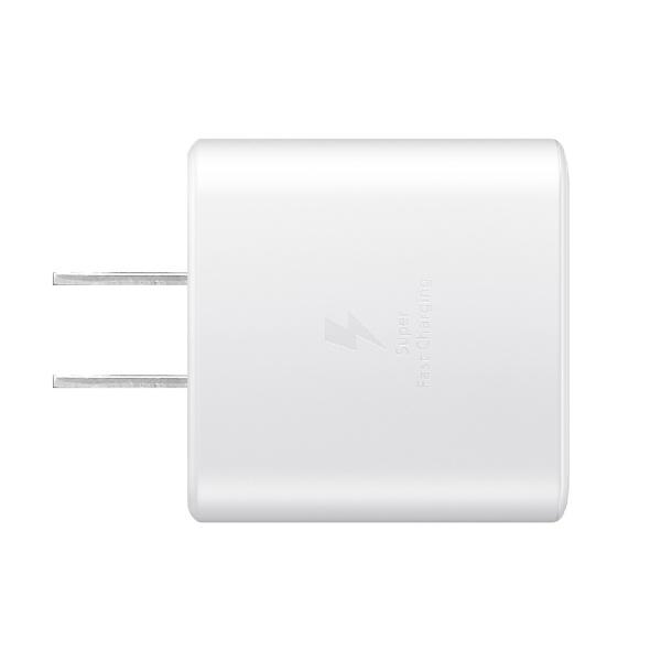 SAMSUNGサムスン【純正】サムスンTRAVELADAPTER(45W)GalaxyホワイトEP-TA845XWEGJP[1ポート/USBPowerDelivery対応]