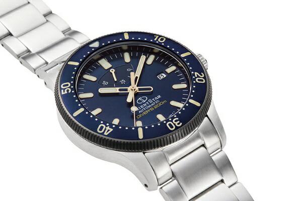 オリエント時計ORIENTオリエントスター500本限定シリコンバンド付RK-AU0304L