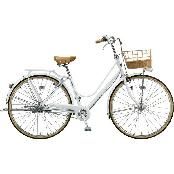 ブリヂストンBRIDGESTONE26型自転車カジュナスイートラインスタンダードチェーンモデル(P.Xピュアホワイト/内装3段変速)CAS63T【2020年モデル】【組立商品につき返品不可】【代金引換配送不可】