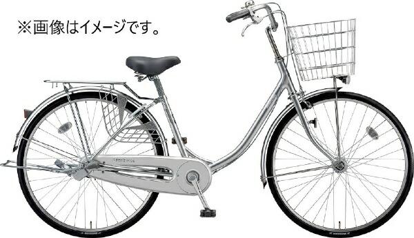 ブリヂストンBRIDGESTONE26型自転車プロムナードPROMENADE(M.XRシルバー/3段変速)PRU63T【2020年モデル】【組立商品につき返品不可】【代金引換配送不可】