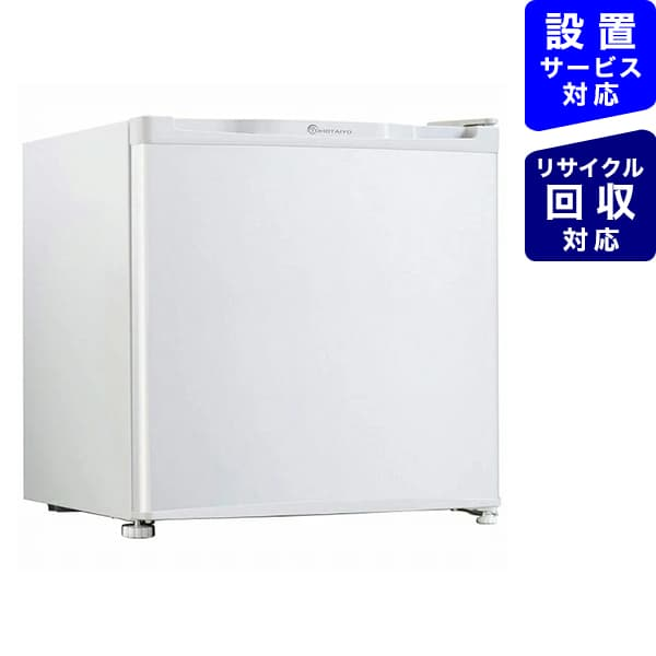 ウィンコドWINCOD冷蔵庫TOHOTAIYOホワイトTH-46L1-WH[1ドア/右開き/左開き付け替えタイプ/46L][冷蔵庫一人暮らし小型新生活TH46L1WH]