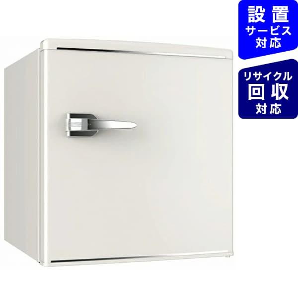 ウィンコドWINCODレトロ冷蔵庫TOHOTAIYOホワイトRT-148W[1ドア/右開きタイプ/48L][冷蔵庫一人暮らし小型新生活RT148W]【zero_emi】