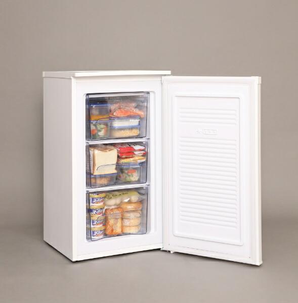 アイリスオーヤマIRISOHYAMA《基本設置料金セット》IUSD6AW冷凍庫ホワイト[1ドア/右開きタイプ/60L][IUSD6AW]