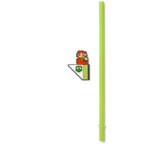 任天堂販売NintendoSalesスーパーマリオホーム&パーティストロータンブラー(水中コース)