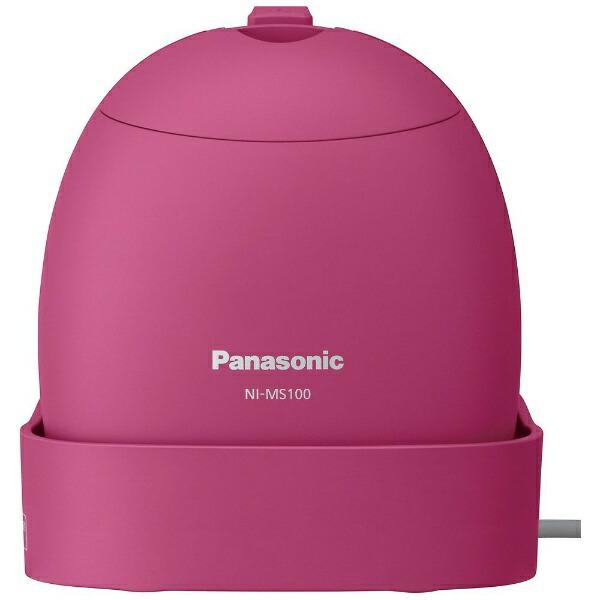 パナソニックPanasonic衣類スチーマービビッドピンクNI-MS100-VP[ハンガーショット機能付き][ハンディアイロン][NIMS100VP]【point_rb】