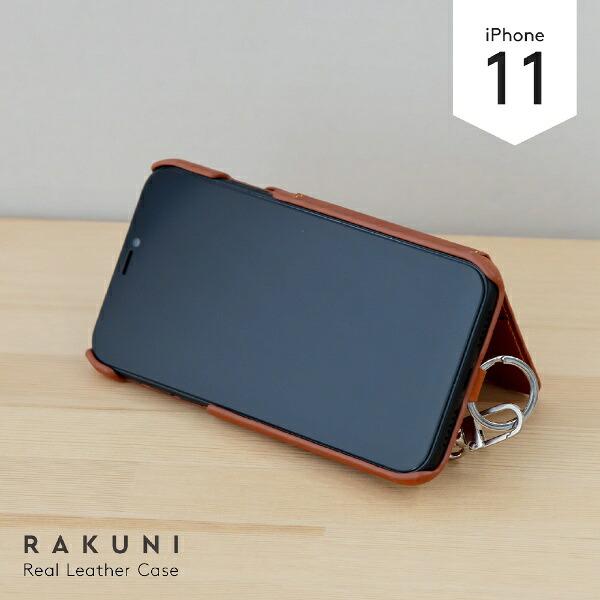 トーモtoomoRAKUNILeatherCaseforiPhone11rak-19ipm-blkピュアブラック