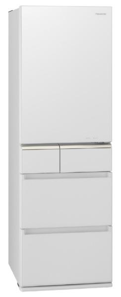 パナソニックPanasonic《基本設置料金セット》NR-E415PV-W冷蔵庫PVタイプスノーホワイト[5ドア/右開きタイプ/406L][冷蔵庫大型][NRE415PV_W]