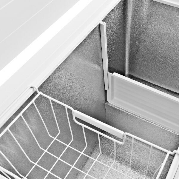 ハイセンスHisense《基本設置料金セット》HF-198JW冷凍庫ホワイト[1ドア/上開き/198L][HF198JW]