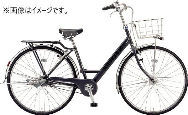 ブリヂストンBRIDGESTONE27型自転車ステップクルーズデラックスチェーンモデル(T.Xクロツヤケシ/3段変速)ST7TP【2020年モデル】【組立商品につき返品不可】【代金引換配送不可】