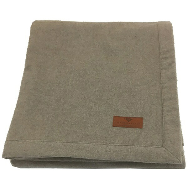 西川NISHIKAWAカシミヤ毛布(1重織)FQ2024(シングルサイズ/140×200cm/ベージュ)【日本製】