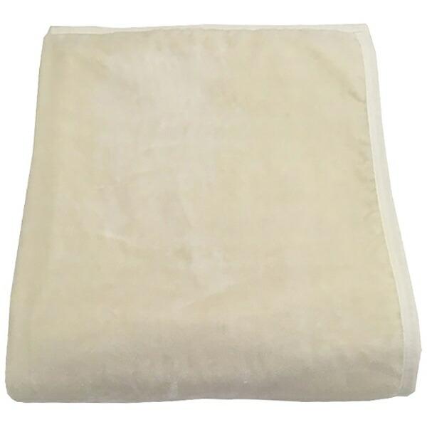 西川NISHIKAWAウォッシャブルシルク毛布(毛羽部分)MD8097F(シングルサイズ/140×200cm/ウォッシャブル/シール織り/アイボリー)【日本製】