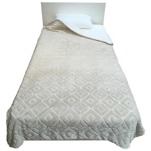 西川NISHIKAWAMOFUMOFU毛布(丸編みシープ)MD9062F(シングルサイズ/140×200cm/ベージュ)