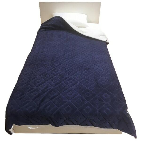 西川NISHIKAWAMOFUMOFU毛布(丸編みシープ)MD9062F(シングルサイズ/140×200cm/ネイビー)