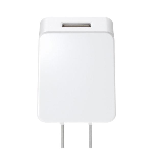 サンワサプライSANWASUPPLYUSB充電器(1A・高耐久タイプ)ホワイトACA-IP49W