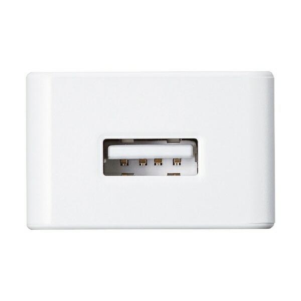 サンワサプライSANWASUPPLYUSB充電器(2A・高耐久タイプ)ホワイトACA-IP52W