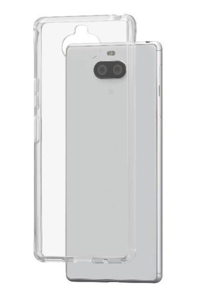 ワイモバイルY!Mobile耐衝撃ハイブリッドケースforXperia8(クリア)