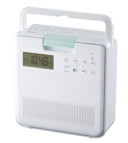 東芝TOSHIBACDラジオTY-CB100(W)ホワイト[Bluetooth対応/ワイドFM対応][TYCB100W]