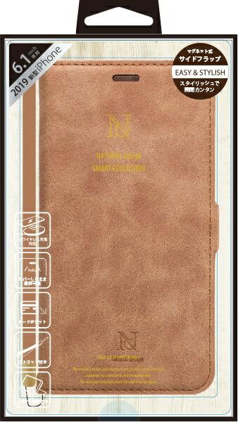 ナチュラルデザインNATURALdesigniPhone116.1インチ専用手帳型ケースStyleNaturalCameliP19_61-VS04