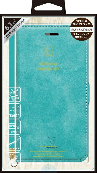 ナチュラルデザインNATURALdesigniPhone116.1インチ専用手帳型ケースStyleNaturalTurquoiseiP19_61-VS08